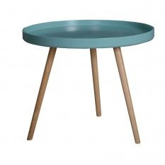 Duvall Tray Table Turquoise 450H