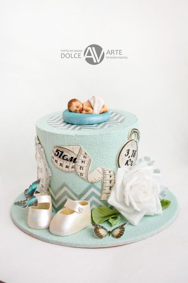 welcome baby cake by Alina Vaganova