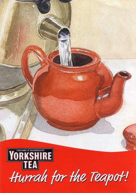 Yorkshire Tea: Hurrah and huzzah!