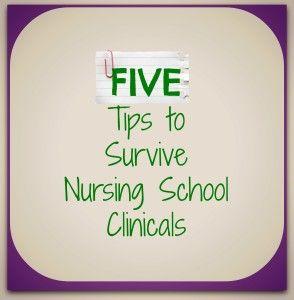 Five Tips to Survive Nursing School Clinicals - The Nurse Teacher