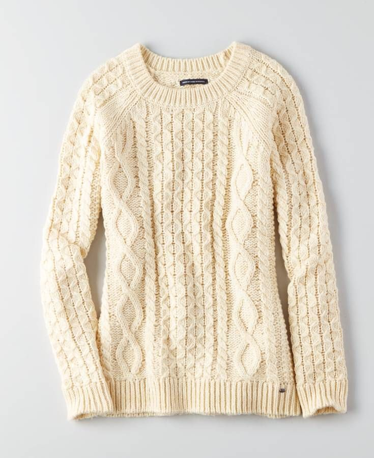AEO Tiered Sweater Dress | Cable knit sweaters, Aeo and Cable knitting