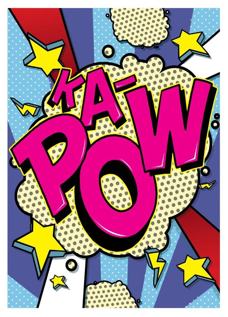 die 17 besten ideen zu pop art comics auf pinterest pop kann kunst pop art und roy lichtenstein. Black Bedroom Furniture Sets. Home Design Ideas