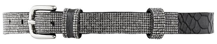 10798 narrow belt, 2 cm, black.
