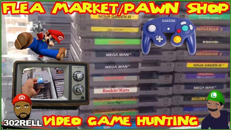 Pawn Shop & Flea Market Retro Video Game Hunting