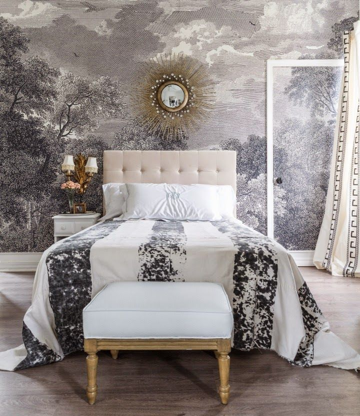 197 best images about new house wall ideas on pinterest for Anthropologie arcadia mural