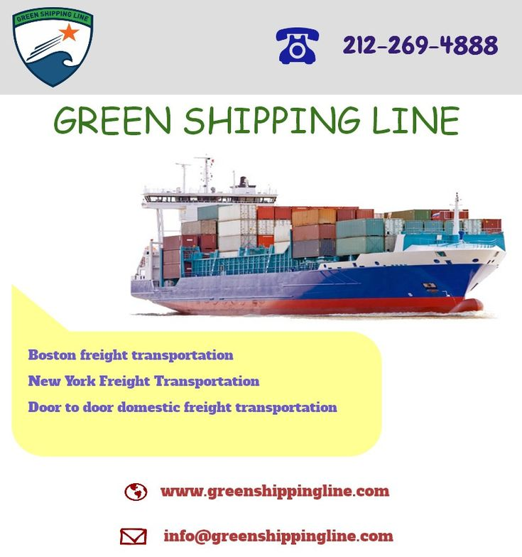 The Green shipping line is a US based freight transportation company, providing low cost freight shipping services around the world.