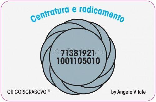 Tessera Radionica 08 - Centratura e Radicamento - Angelo Vitale