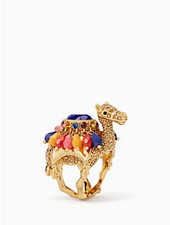 spice things up camel ring by kate spade new york