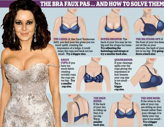 the bra faux pas