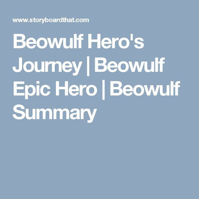 beowulf as an epic hero in Free essay: every epic hero possesses certain heroic characteristics the epic poem beowulf describes the most heroic man of the anglo-saxon times beowulf.