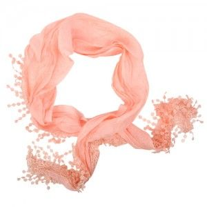 Pastel Pink Triangle Scarf WAS $12.95 NOW $3.95