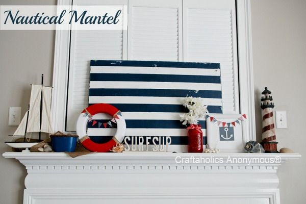 Nautical mantel inspiration