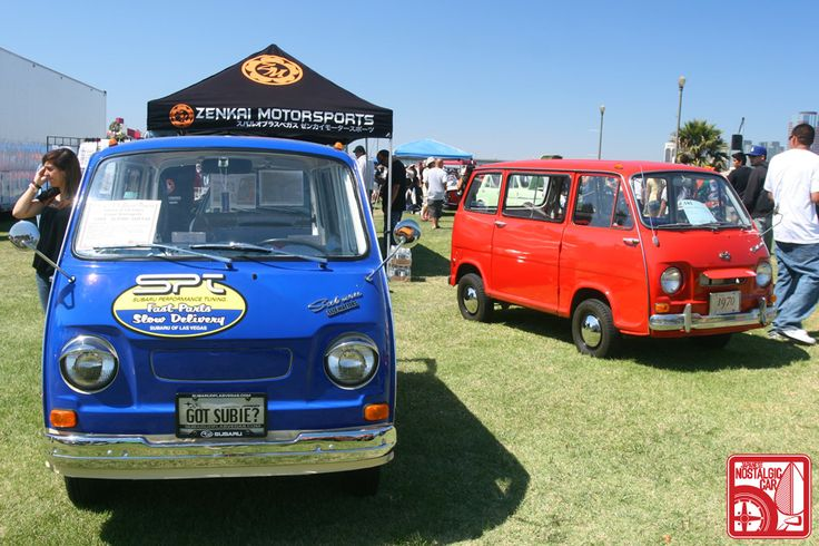 Subaru 360 Vans
