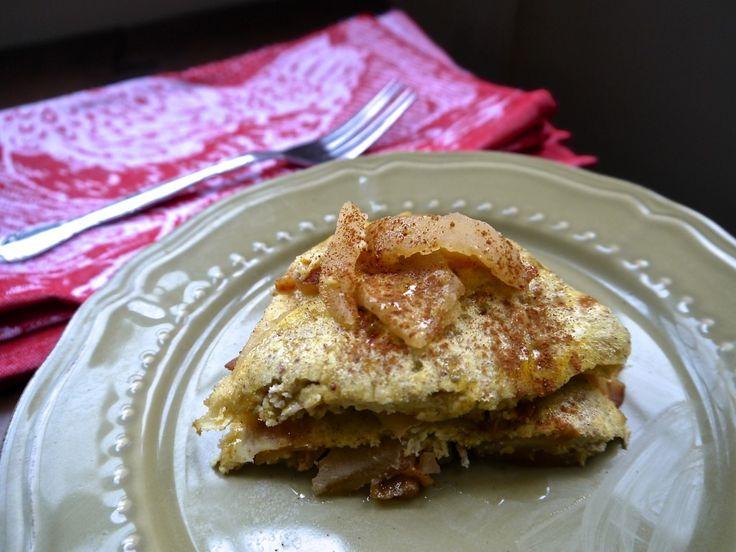 grain-free baked apple pancake