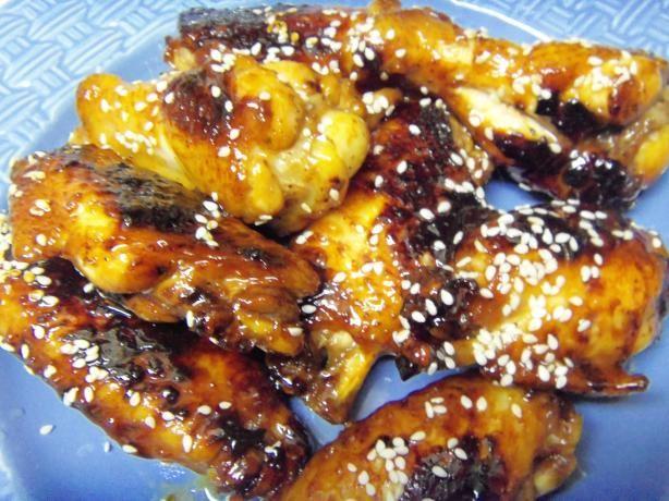 Sticky Honey Soy Chicken Wings Tyler Florence