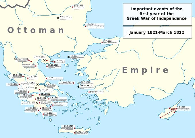 MAP-Greek War of Independence
