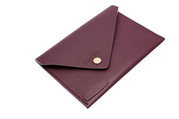 Personalised Women's elegant lambskin leather passport