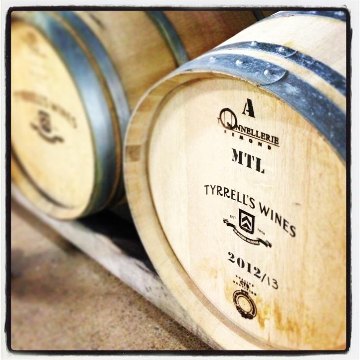 #wine #barrel #Tyrrells @HunterValley