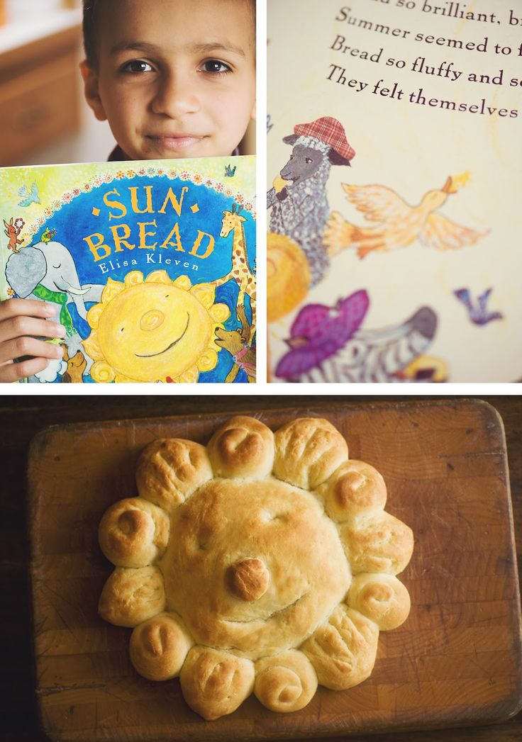 Sunbread!  I love this book and so does my 2 year old daughter.