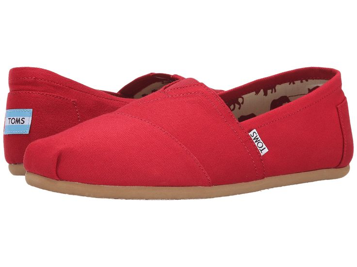 TOMS Canvas Original Men | Red (1001A07)
