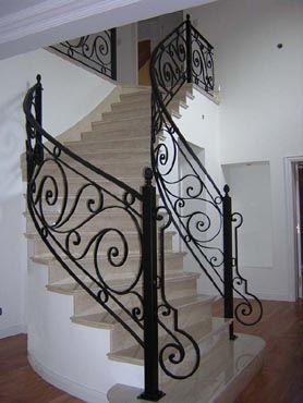 Las 25 mejores ideas sobre herreria artistica en Escaleras herreria para interiores
