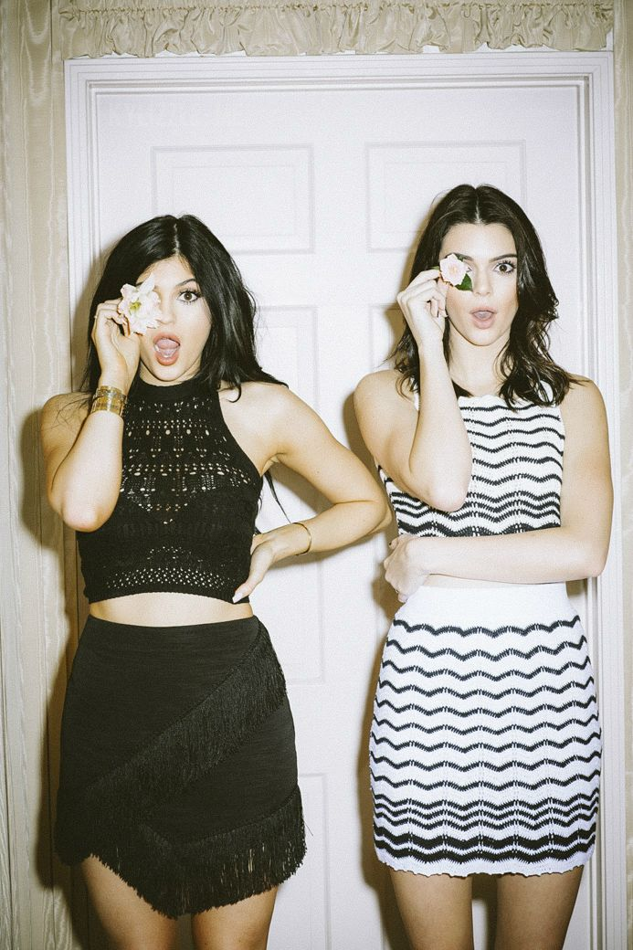 Kendall and Kylie Jenner for Kendall & Kylie x PacSun Spring 2015 Collection.