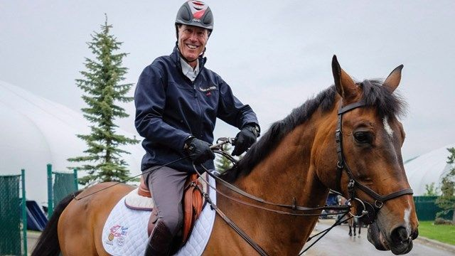 68-year-old Ian Millar from Perth is the oldest athlete in the 2015 Pan Am Games. He holds the games' most medals for show-jumping (earned 9 from his 10 appearances) and is shooting for more when he joins his Canadian teammates, Schomberg's own Eric Lamaze, North Vancouver's Tiffany Foster, and Caledon's Yann Candle at Caledon Equestrian Park July 21-25.