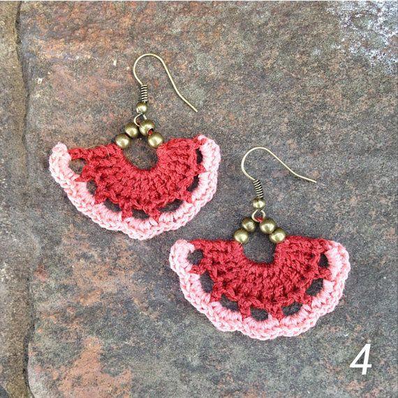 3553 best Crochet Jewellery images on Pinterest | Crochet ...