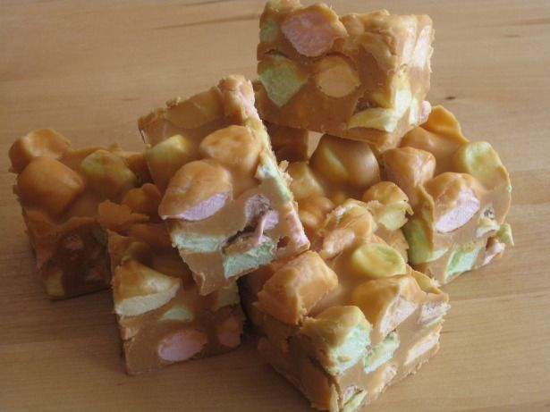 No-Bake Peanut Butter Marshmallow Squares 		by Kara Heald 	  	 		 How about some of these for Father's Day? A super easy no-bake treat the k...