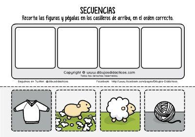 Fichas didactica secuencias