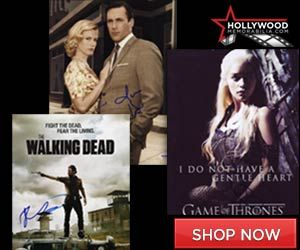 Shop for Thousands of 100% Authentic Autographed Televsion Collectibles at HollywoodMemorabilia.com