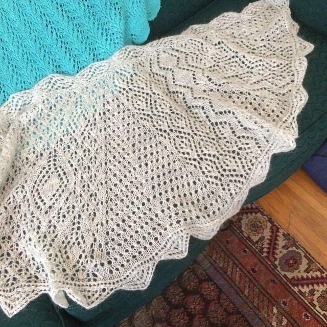 Ravelry: LisaJedi's Zulo Shawl- test knit