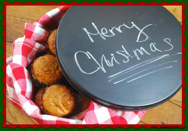 Personalized Christmas Gift Tins