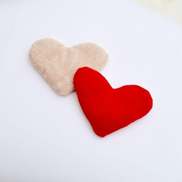 Valentinstag Herz Traubenkerne Wärmkissen