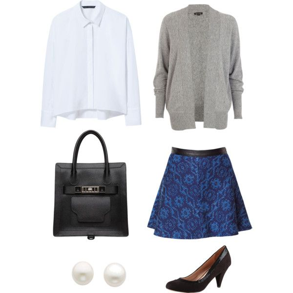 """""""OOTD: First Day at Work"""" by mmhv on Polyvore"""
