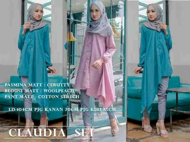 Claudia set 3in1 @92rb Blouse woolpeach+pants katun stretch+pashmina, seri 2wrn Close 11 maret, ready mei ¤ Order By : BB : 2951A21E CALL : 081234284739 SMS : 082245025275 WA : 089662165803 ¤ Check Collection ¤ FB : Vanice Cloething Twitter : @VaniceCloething Instagram : Vanice Cloe