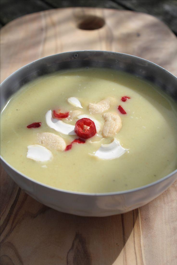 Marrokaans-courgette-soep