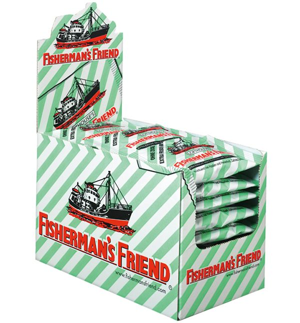 Fishermans Friend Mint without sugar Display
