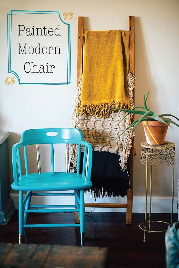 Gold foil could turn any chair into a modern maste…