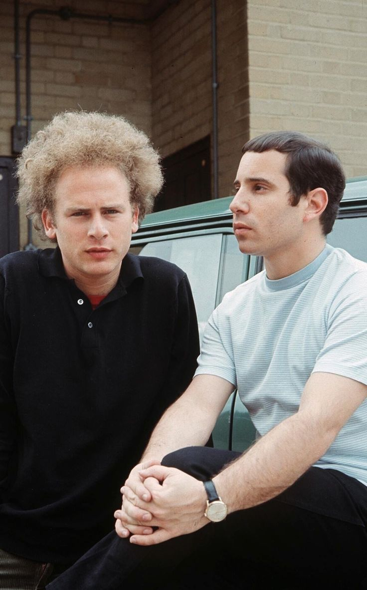 Simon and Garfunkel.  or Garfunkel and Simon in this case.