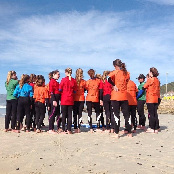 Thomas Clapham school,the girls learning to surf with the crew from Surfshack supported by @billabonggirls_za @billabongsa #palmers @vonzippersouthafrica @vonzipperza @DAKINE - @surfshack_capetown- #webstagram