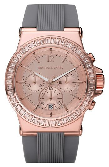 Michael Kors 'Daytona' Crystal Bezel Watch/ Love it, Need it, HAVE to have it!!!