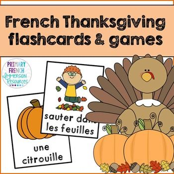 Teaching Spanish: Vocabulary Practice for Thanksgiving Day