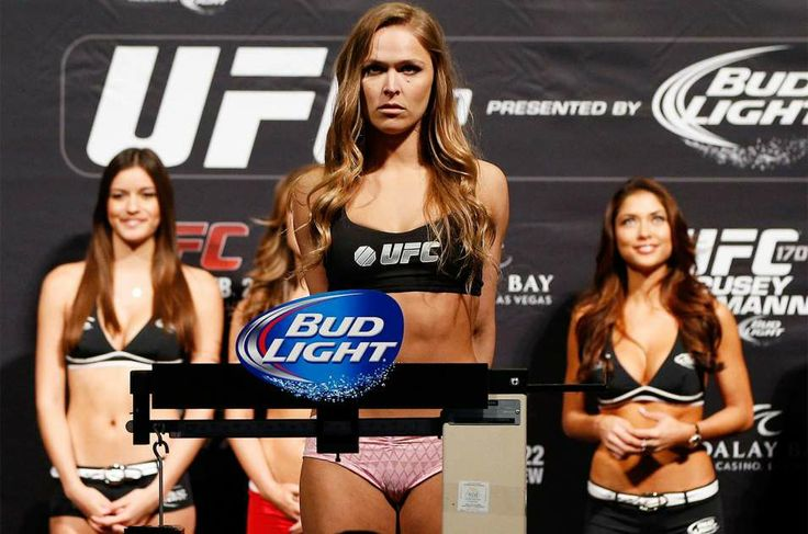Apparel brand will give $5K to first woman who knocks out Ronda Rousey | FOX Sports on MSN