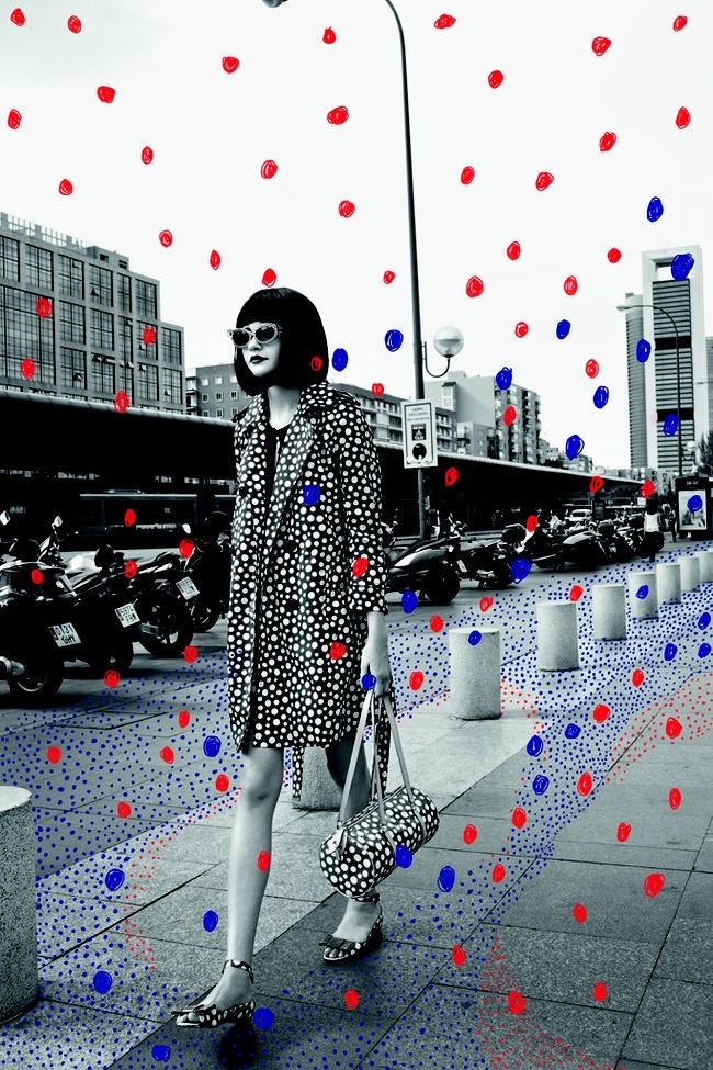 Louis Vouitton/Yayoi Kusama When Fashion meets art. Cuando la moda conoce al arte. Everyone needs some colored rain. Todos necesitan un poco de lluvia de colores