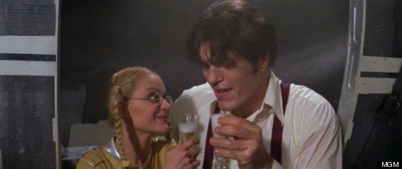 """Well, here's to us!"" from ""Moonraker."""