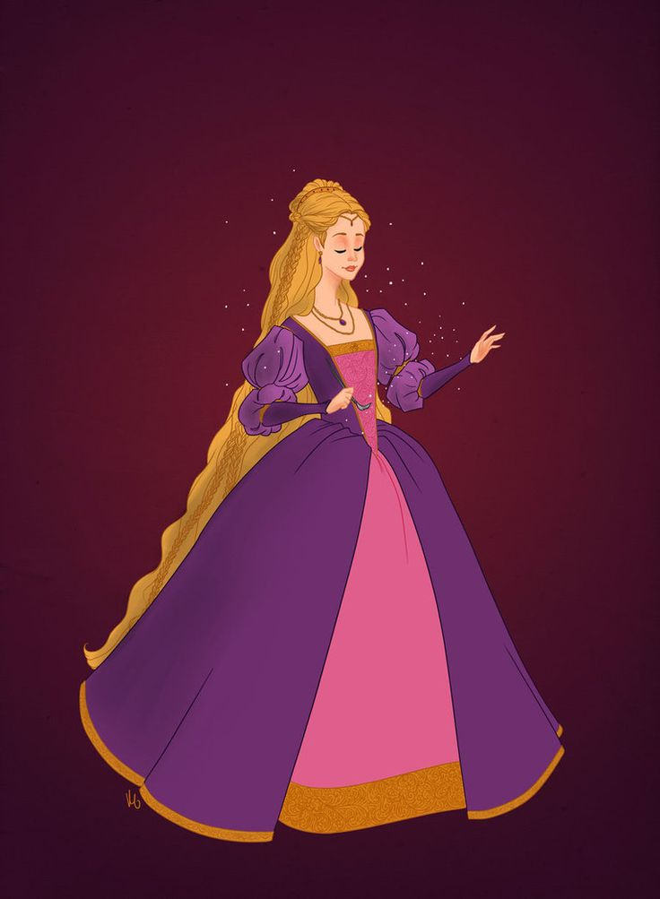 """Swirk's historically accurate Barbie heroines, mid-16th C. Rapunzel: """"It's a very beautiful giveaway"""""""