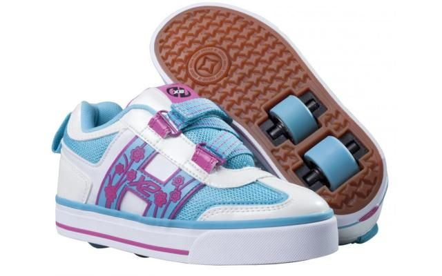 Heelys Blossom - Purple / White / Blue   Heelys - Entire Range   Heelys   Cheap Skate Shoes For Sale   Skatehut