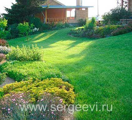 Ландшафтная мастерская Сергеевых :: Сад на склоне