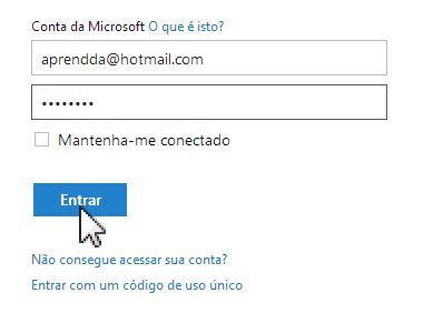 Login Hotmail